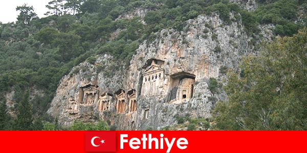 Città di Fethiye nel sud-ovest della Turchia