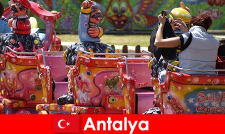 Una piacevole vacanza in famiglia ad Antalya in Turchia
