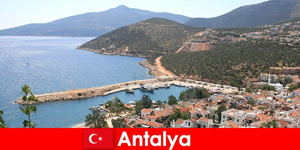 Spiagge a Antalya in Turchia