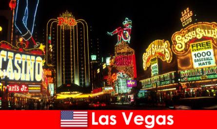 Intrattenimento a Las Vegas e consigli utili per i viaggiatori