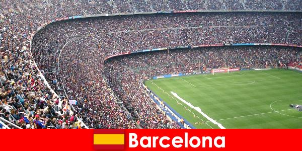 Barcellona per i turisti un viaggio da sogno con sport e avventura