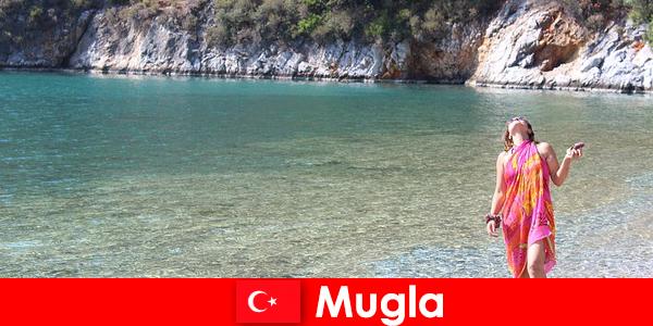 Vacanze al mare a Mugla, una delle più piccole capitali provinciali in Turchia