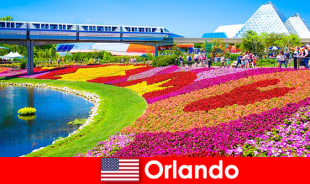 Orlando è la capitale turistica degli Stati Uniti con numerosi parchi a tema
