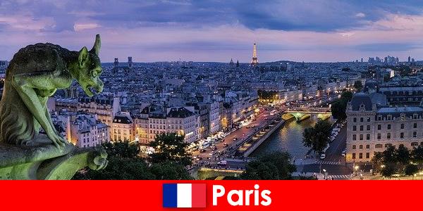 Parigi una città d'artista con un fascino particolare per gli edifici