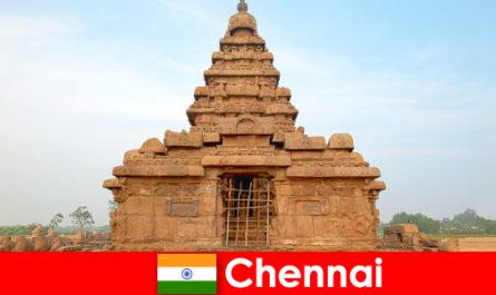Gli stranieri Chennai amano le bellezze dei siti Patrimonio dell'Umanità unesco
