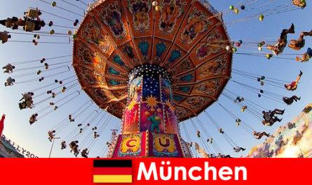 Eventi sportivi internazionali e Festa diottobre a Monaco di Baviera è una calamita per gli ospiti