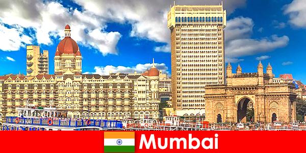 Mumbai un'importante metropoli in India per affari e turismo