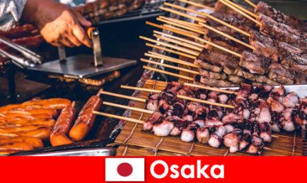 Osaka è la cucina del Giappone e un por-to di scalo per chi cerca un'avventura in vacanza