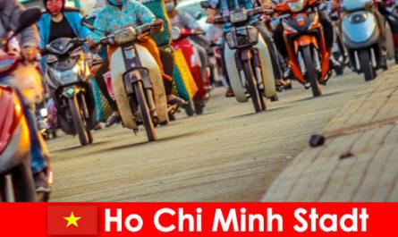 Ho Chi Minh City è sempre un piacere per i ciclisti e gli appassionati di sport