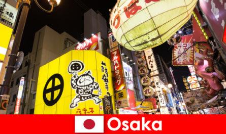 L'intrattenimento comico è sempre il tema principale per gli stranieri a Osaka