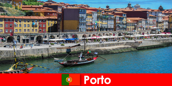 City break per i visitatori di Porto Portogallo con bar affascinanti e ristoranti locali