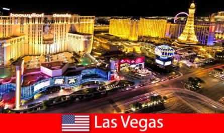 Un fantastico paradiso del gioco a Las Vegas, negli Stati Uniti, per ospiti da tutto il mondo