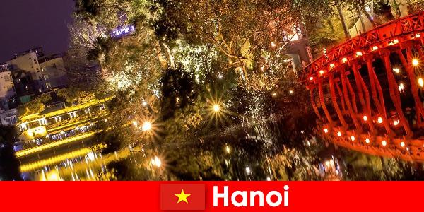 Hanoi in Vietnam è a cuore aperto per il turismo
