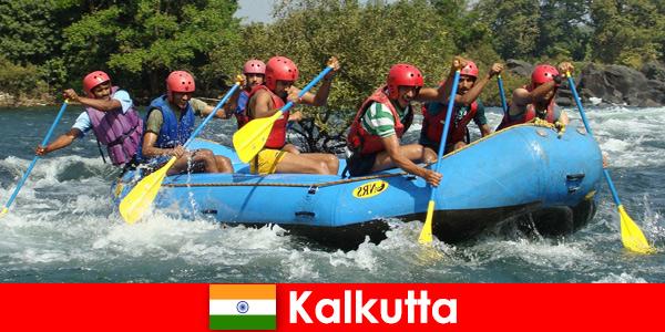 Viaggio economico per atleti attivi a Calcutta India