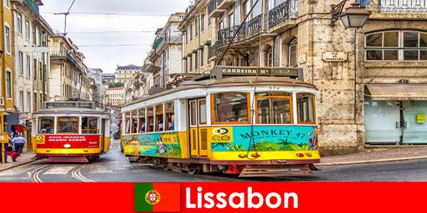 Strade storiche di Lisbona Portogallo con un tocco di nostalgia per il viaggiatore culturale