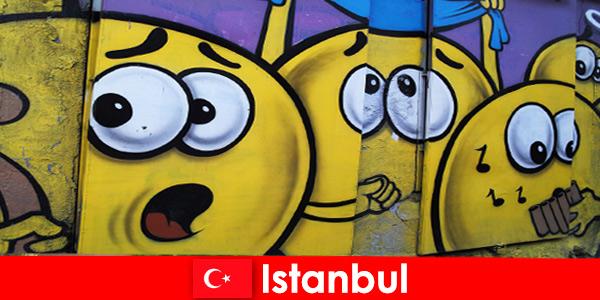 I club di scena di Istanbul in Turchia per hipster e artisti di tutto il mondo come un viaggio di fine settimana