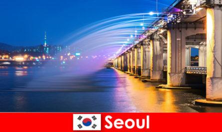 Seoul in Corea è una città di luci che attira gli stranieri
