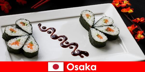 Osaka Japan for Strangers un tour gastronomico della città