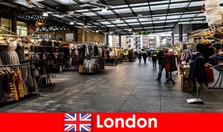 Londra Inghilterra è l'indirizzo migliore per i turisti dello shopping