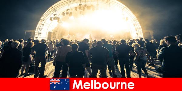 Gli sconosciuti aperto ogni anno ai concerti all' gratuiti a Melbourne in Australia