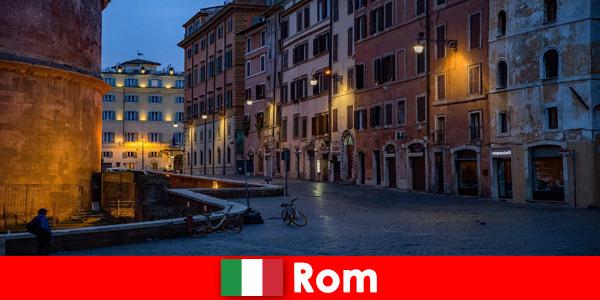 Breve viaggio per turisti in autunno a Roma Italia nei luoghi più belli